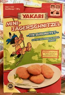 Yakari-Mini-Jägerschnitzel