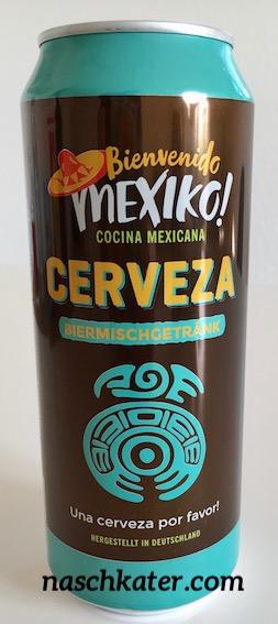 Aldi Cerveza mexiko Bierdose