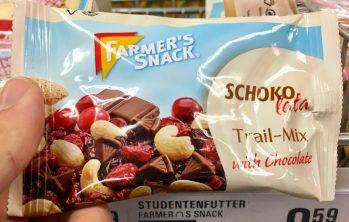 Farmer's Snack Schokolata Trail-Mix with Chocolate