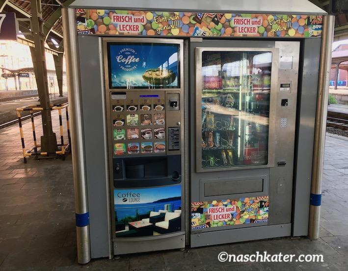 Frisch und Lecker Süßwarenautomat auf Bahnhof Hagen