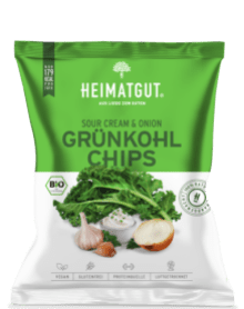 Heimatgut Sour Cream und Onion Grünkohlchips