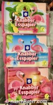 Küchle Knabber-Esspapier Flamingo