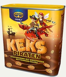 Krüger Family Kekspiraten-Trinkschokolade