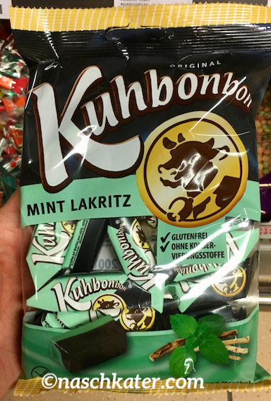 Kuhbonbons Mint Lakritz