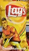 Lays Chips mit Fußballer-Motiv zur Fußball-WM 2018