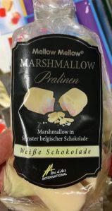 Mellow Marshmallow Pralinen Weiße Schokolade