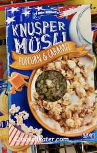 Penny Mike Mitchells Knusper Müsli Popcorn-Caramel