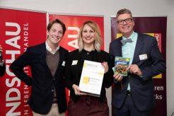 Hitschler-Team und Numrich mit Auszeichnung und Siegerprodukt
