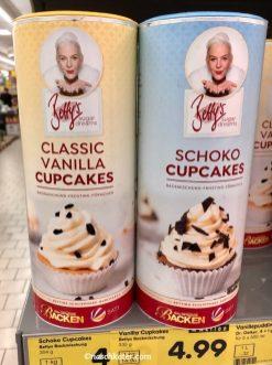 Bettys Sugar Dreams Vanilla und Schoko Cupcakes Backmischung
