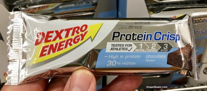 Dextro Energy Protein Crisp Chocolate Bar
