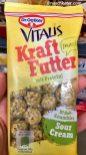 Dr. Oetker Vitalis Kraftfutter mit Protein Snack mit Sour Cream Müsli-Crunchies