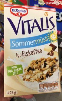 Dr. Oetker Vitalis Müsli Typ Eiskaffee
