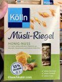 Kölln Müsliriegel Honig-Nuss
