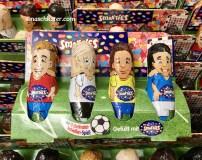 Nestle Smarties Schokominifiguren Fußballspieler
