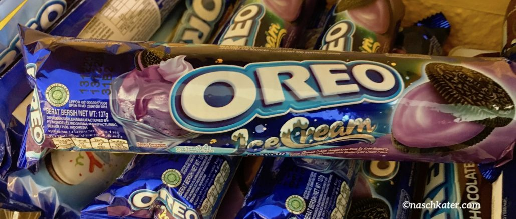 Oreo Keks Ice Cream Lila