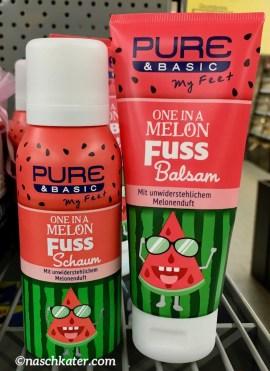 Pure Basic Fuss Schaum und Balsam Melone