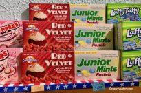 Sugar Safari Cookie Dough red Velvet Junior Mints LaffyTaffy