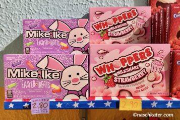 Sugar Safari Whopers Milkshake Strawberry und IkeAndIke Easter Treats