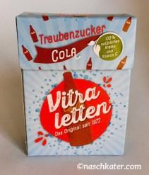 Vitraletten Cola neues Design 2018