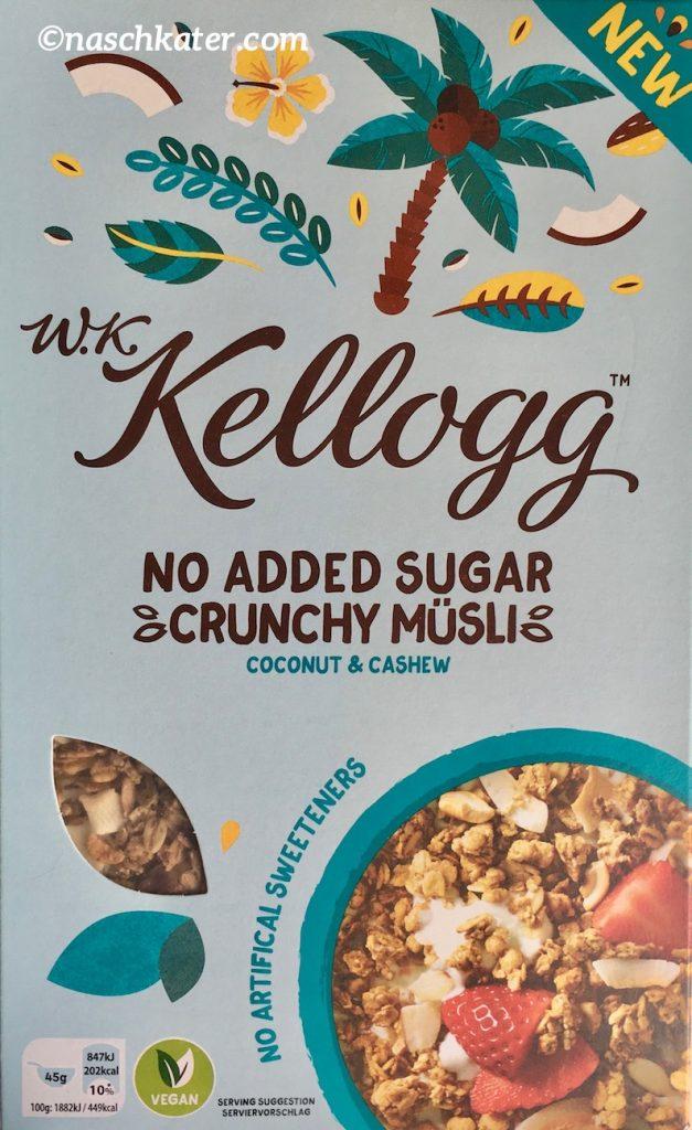 WK Kellogg Crunchy Müsli Coconut & Cashew