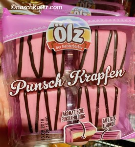 Ölz rosa Punsch-Krapfen Österreich