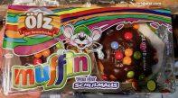 ölz Muffins Schoko Schokolinsen Maus