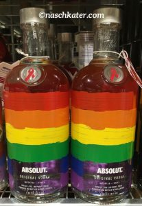 Absolut Vodka Regenbbogen