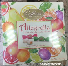 Caffarel Allegrelle Fruchtbonbons Karton