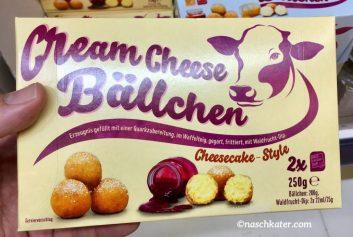 Cream Cheese Bällchen mit Sauce/Dip