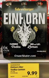 Fahrenburger Einhorn Vodka Lemon