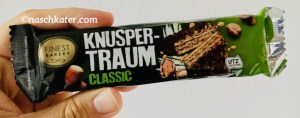 Finest Bakery Knuspertraum Classic Riegel Nussini