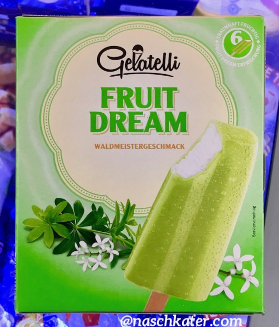 Lidl Gelatelli Fruit Dream Waldmeister