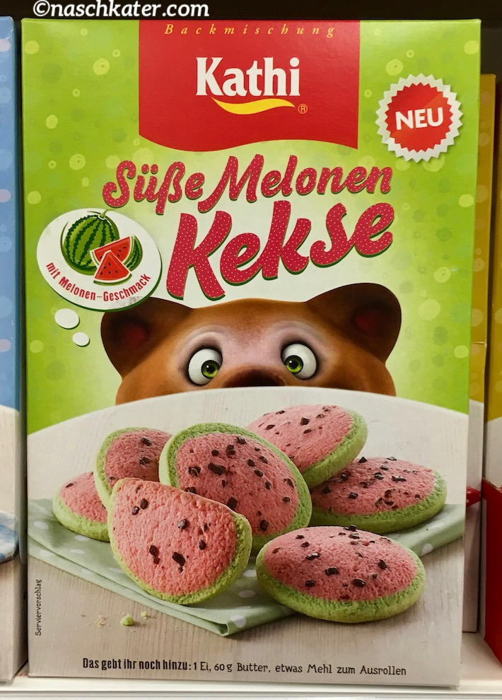 Kathi Süße Melonen Kekse Backmischung