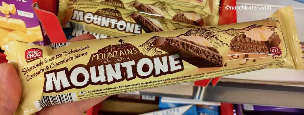Lidl Mr Choc Mountone Dunkle und weiße Schokolade