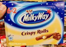 Mars Milky Way Crispy Rolls
