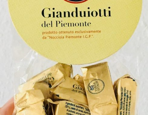 Terre D'Italia Gianduiotti del Piemnonte Nougat