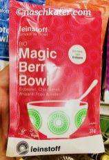 feinstoff Protein Bowl Erdbeeren Chia Amaranth