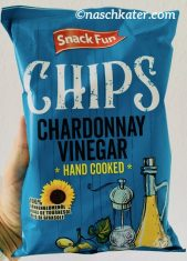 snack Fun Chips Chardonnay Vinegar Hand cooked