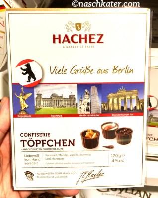 Hachez Grüße aus Berlin Confiserie Töpfchen