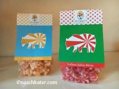 Naschpirat Erdbeer-Sahne Bären und Orange-Creme-Bären