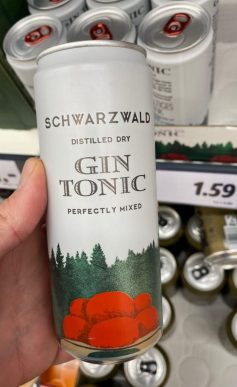 Schwarzwald Gin Tonic Dose