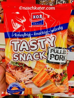 XOX Snack Tasty Snack Pulled Pork