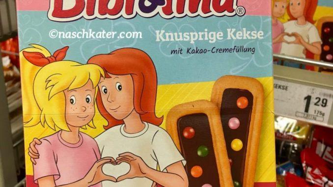 Bibi&Tina keksriegel mit bunten Schokolinsen