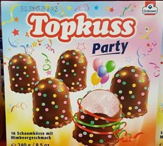 Grabower Topkuss Party Konfetti Schaumküsse