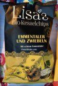 Lisas Bio-Kesselchips Emmentaler und Zwiebeln