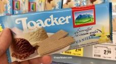 Loacker Eiswaffel Vanille