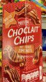Nestle Choclait chips Zimt