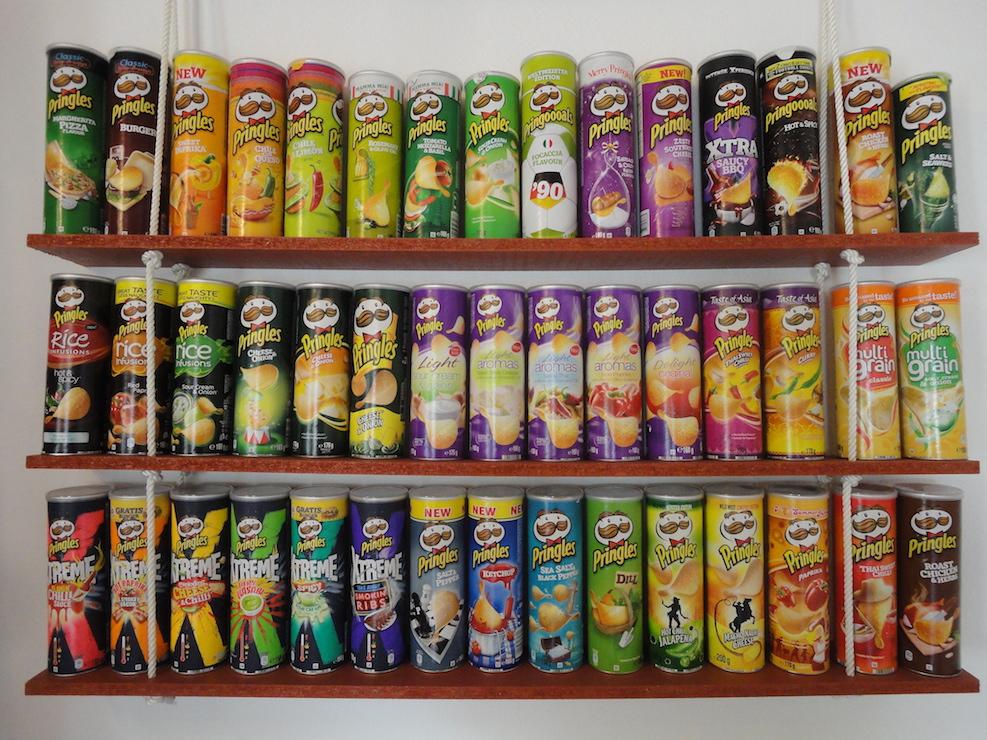 Fachsimpeln unter Pringles-Fans: Raritäten und Länderunterschiede