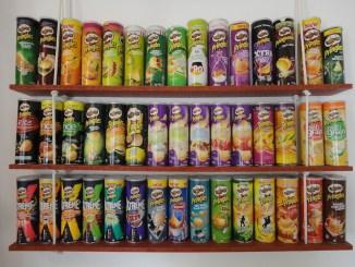 Umfangreiche Pringles-Sammlung von Jonathan Darmstadt