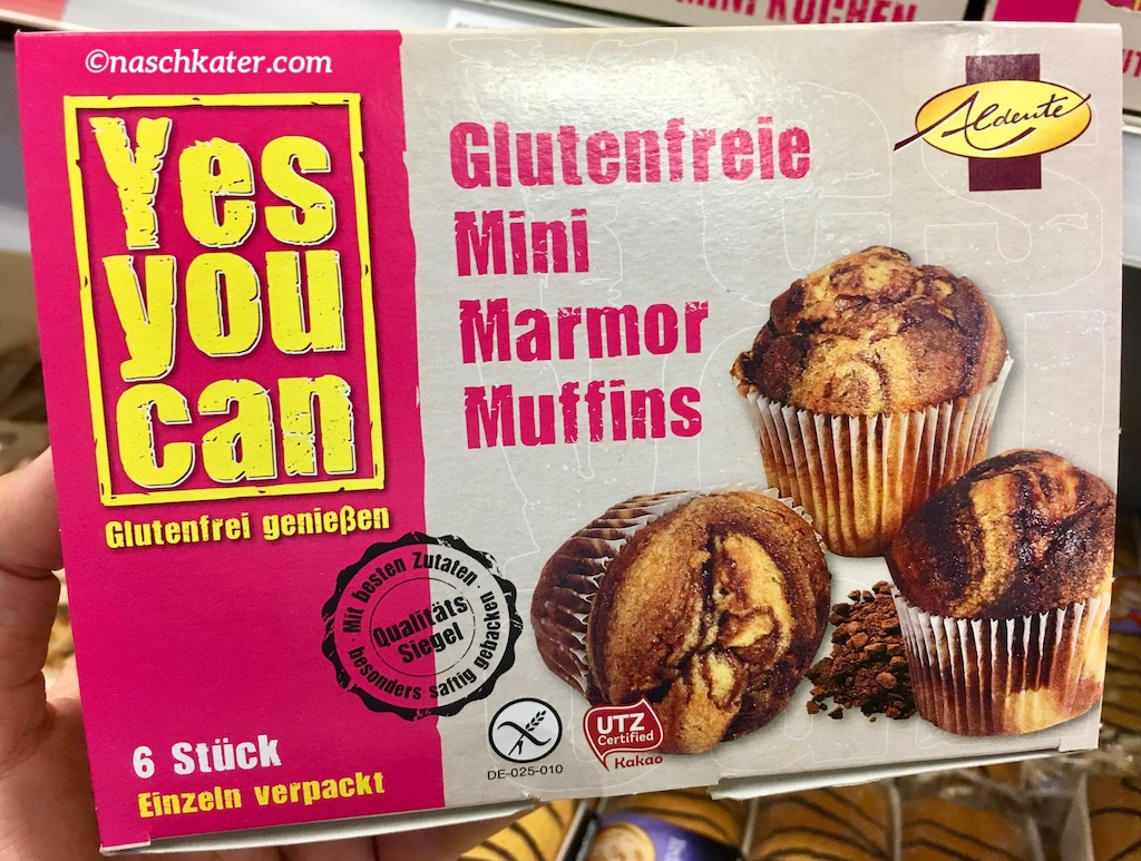 Yes You can – glutenfreie Mini Marmor Muffins